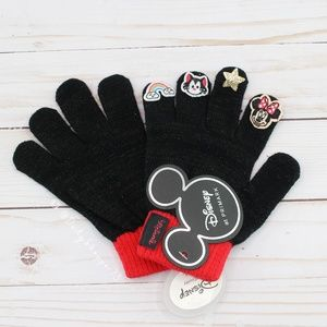 Sparkly Minnie Mouse Embellished Gloves